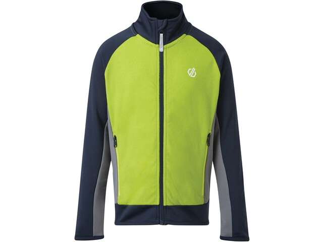 Dare 2b Accolade Core Stretch Chaqueta Niños, lime punch/outerspace blue/athletic blue